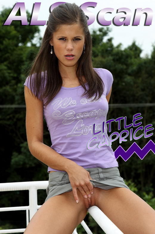 Little Caprice - `Enjoying the View` - for ALSSCAN