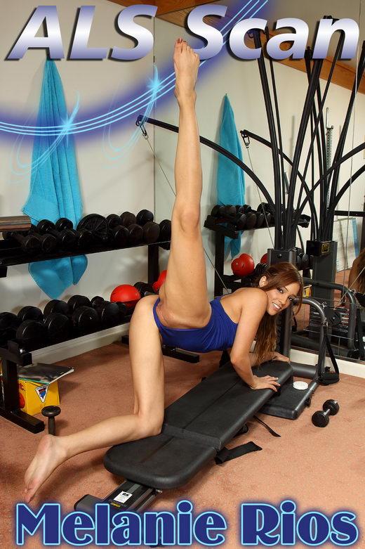 Melanie Rios - `Fitness Buff` - for ALSSCAN