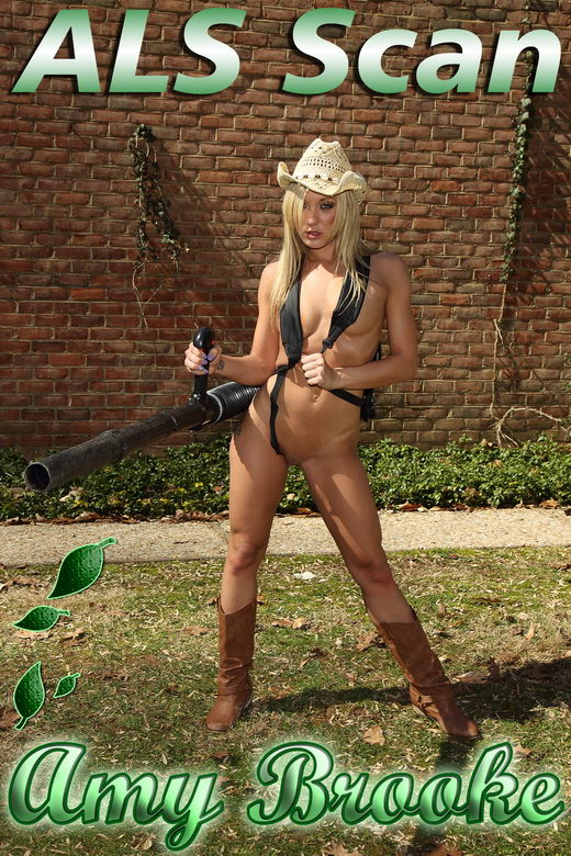 Amy Brooke - `Leaf Blower` - for ALSSCAN