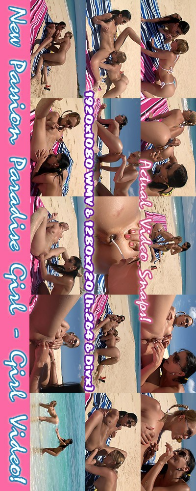 Blue Angel & Shalina Devine - `Passion Paradise - Girl-Girl Action` - for ALSSCAN