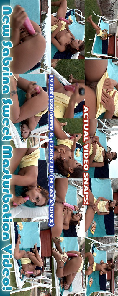Sabrina Sweet - `Masturbation` - for ALSSCAN