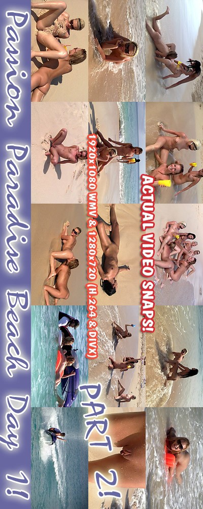 `Passion Paradise - Beach Day Fun Part #2` - for ALSSCAN