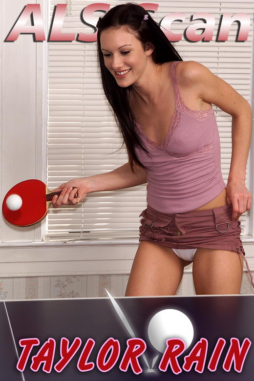 Taylor Rain - `Ping Pong Pro` - for ALSSCAN