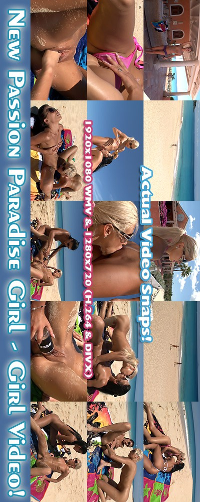 Kacey Jordan & Shalina Devine - `Passion Paradise - Girl-Girl Action` - for ALSSCAN