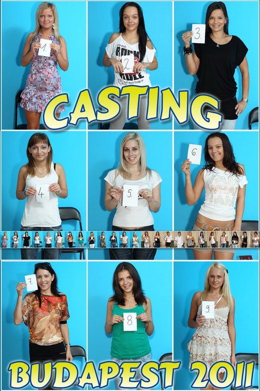`Budapest 2011 - Casting & BTS` - for ALSSCAN