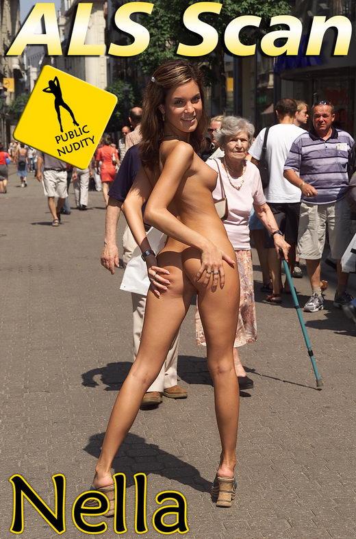 Nella - `Public Nudity` - for ALSSCAN