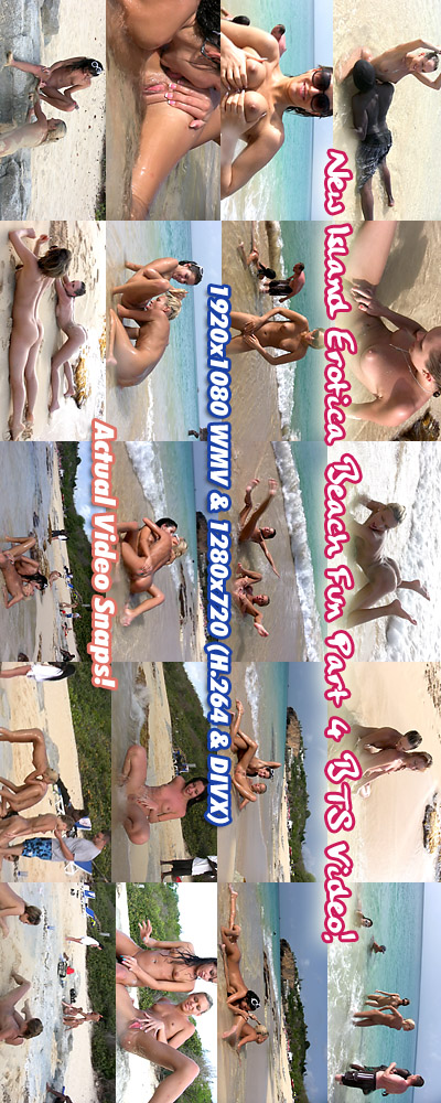 `Island Erotica Behind the Scenes Video` - for ALSSCAN