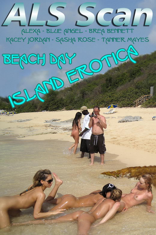 Brea Bennett & Kacey Jordan - `Island Erotica Beach Day Fun & BTS` - for ALSSCAN