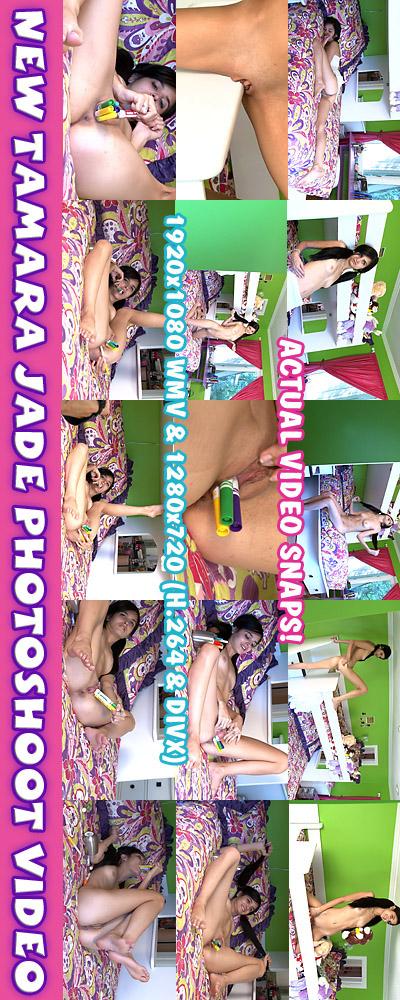 Tamara Jade - `Photoshoot Video` - for ALSSCAN