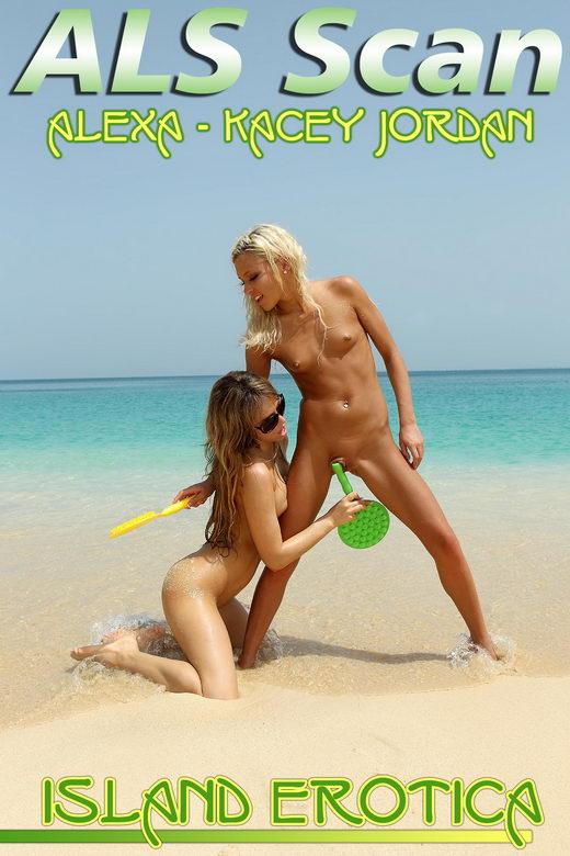 Alexa & Kacey Jordan - `Island Erotica` - for ALSSCAN