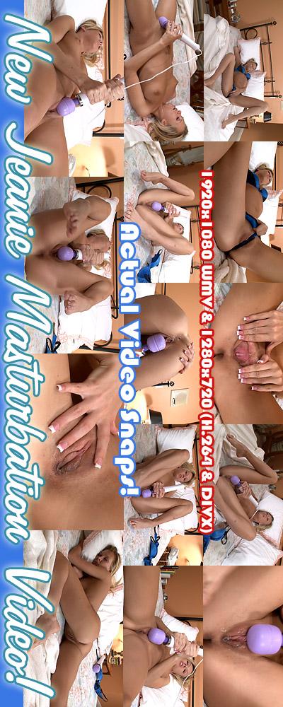 Jeanie - `Shoot #3 Masturbation Video` - for ALSSCAN