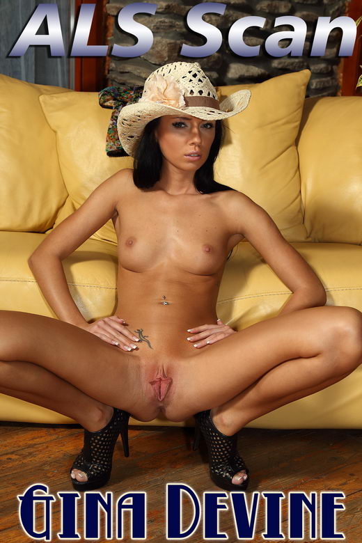 Gina Devine - `Cowgirl` - for ALSSCAN