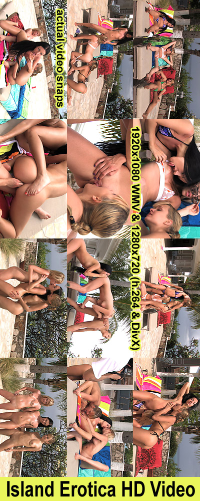 `Island Erotica Photoshoot Video` - for ALSSCAN
