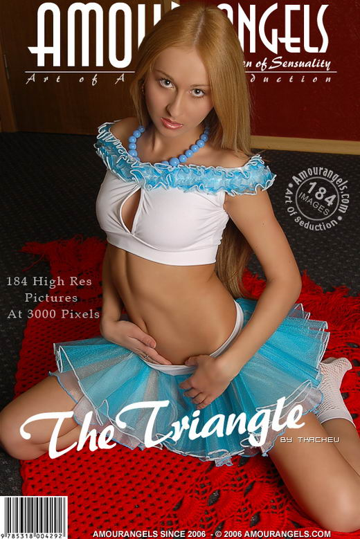 Anna - `The Triangle` - by Tkachev for AMOUR ANGELS
