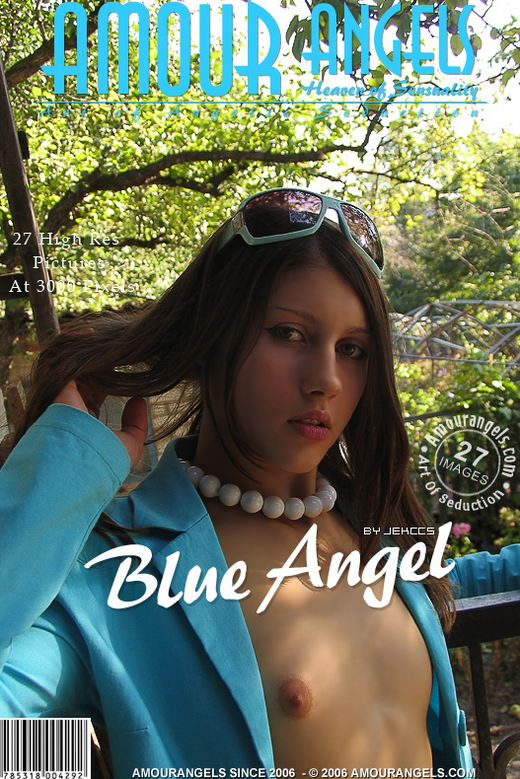Dasha - `Blue Angel` - by Jekccs for AMOUR ANGELS