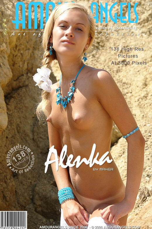 Alenka - `White Stockings` - by Maker for AMOUR ANGELS