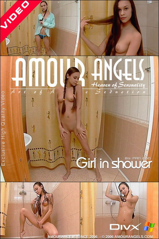 Olga - `Girl In Shower` - by Pan Ero for AMOUR ANGELS