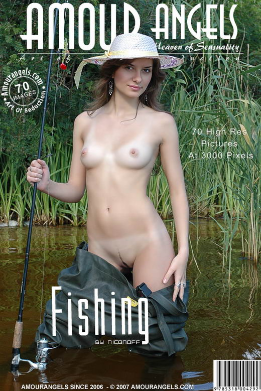 Evgeniya - `Fishing` - by Nikonoff for AMOUR ANGELS