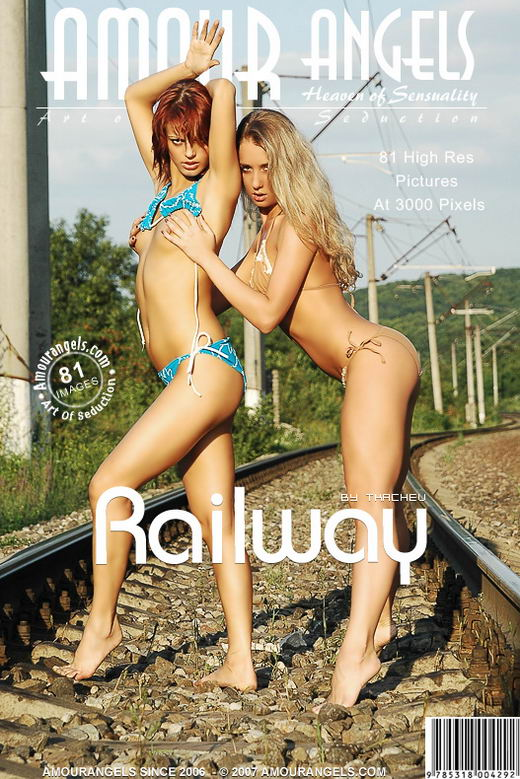 Sofia & Sabrina - `Railway` - by Tkachev for AMOUR ANGELS