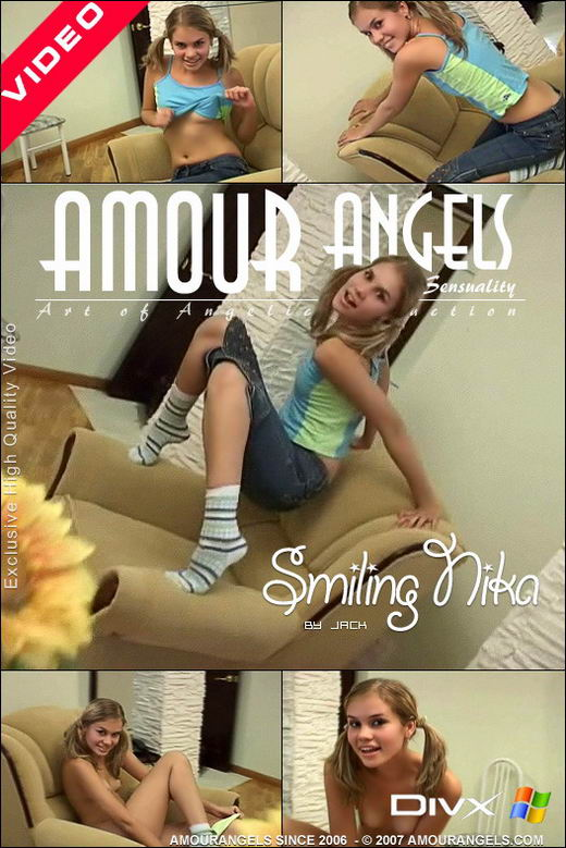 Nika - `Smiling` - by Jack for AMOUR ANGELS