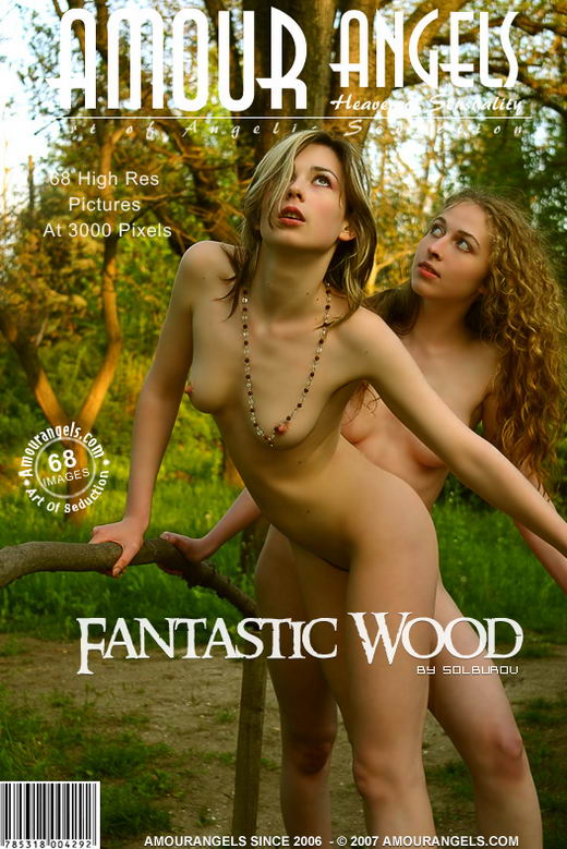 Kseniya & Olya - `Fantastic Wood` - by Solburov for AMOUR ANGELS