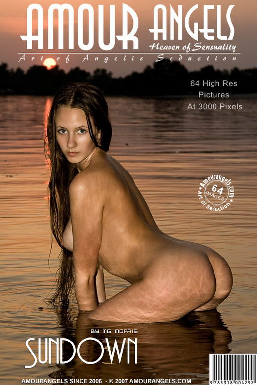 Melissa - `Sundown` - by MG Morris for AMOUR ANGELS