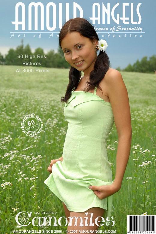 Nastya - `Camomiles` - by Erofey for AMOUR ANGELS