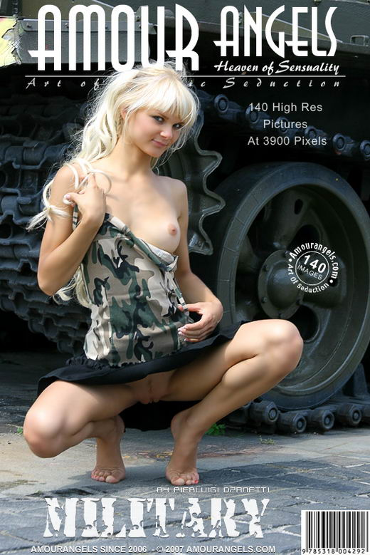 Yuliya - `Military` - by Pierluigi Dzanetti for AMOUR ANGELS
