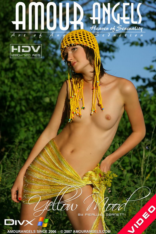 Natasha - `Yellow Mood` - by Pierluigi Dzanetti for AMOUR ANGELS