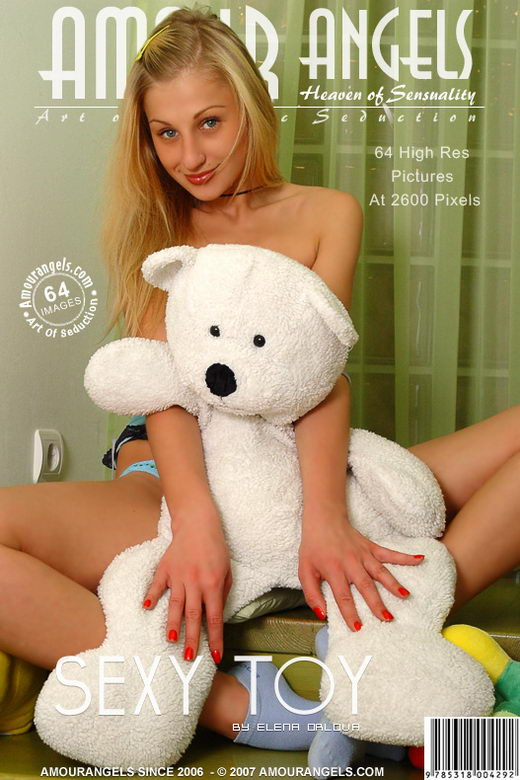 Vika - `Sexy Toy` - by Elena Orlova for AMOUR ANGELS