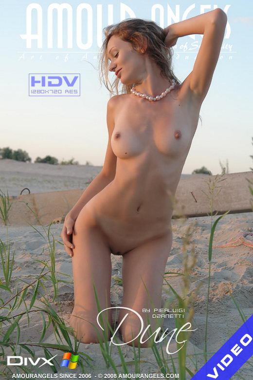 Nastya - `Dune` - by Pierluigi Dzanetti for AMOUR ANGELS
