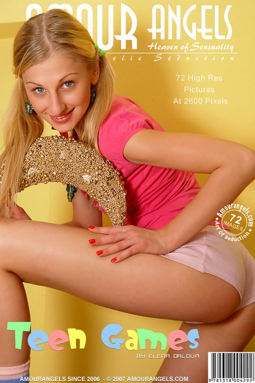 Vika - `Teen Games` - by Elena Orlova for AMOUR ANGELS