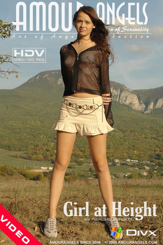 Tanya - `Girl At Height` - by Pierluigi Dzanetti for AMOUR ANGELS