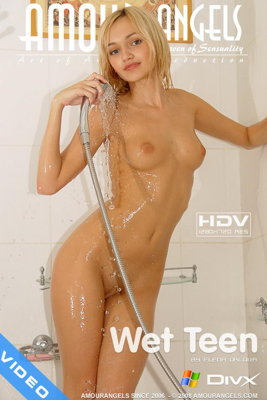 Angela - `Wet Teen` - by Elena Orlova for AMOUR ANGELS