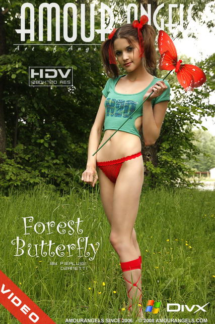 Diana - `Forest Butterfly` - by Pierluigi Dzanetti for AMOUR ANGELS