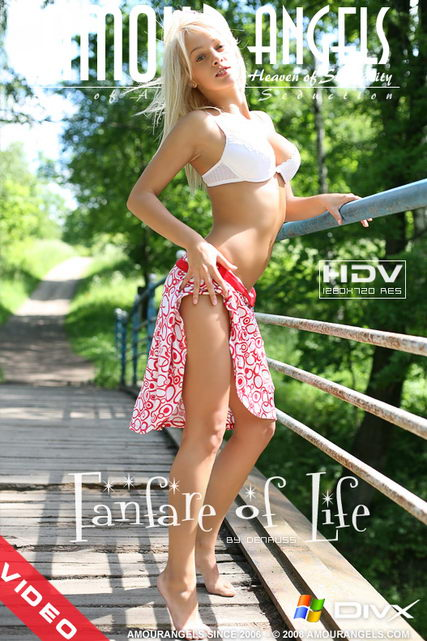 Kristi - `Fanfare Of Life` - by Den Russ for AMOUR ANGELS