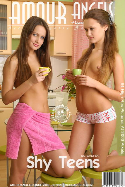 Nataly & Tany - `Shy Teens` - by Erofey for AMOUR ANGELS