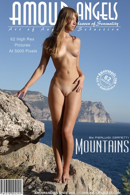 Lika - `Mountains` - by Pierluigi Dzanetti for AMOUR ANGELS