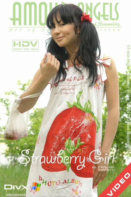 Kristina - `Strawberry Girl` - by Pierluigi Dzanetti for AMOUR ANGELS