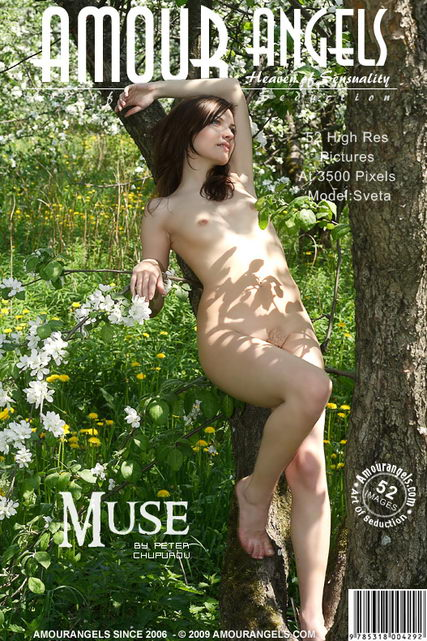 Sveta - `Muse` - by Peter Chupurov for AMOUR ANGELS