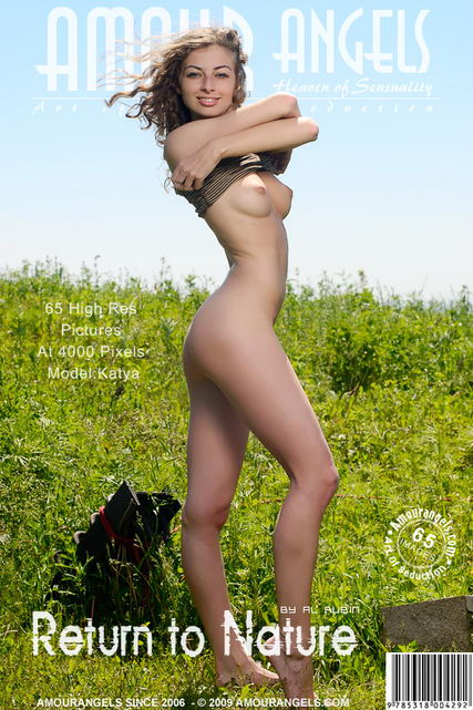 Katya - `Return To Nature` - by Al Rubin for AMOUR ANGELS