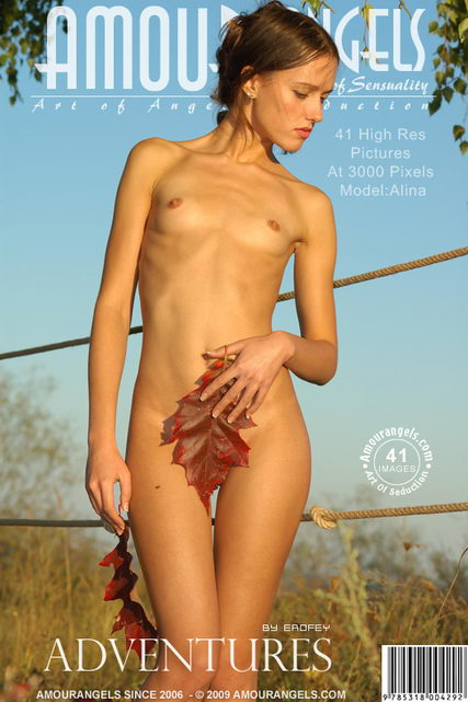Alina - `Adventures` - by Erofey for AMOUR ANGELS