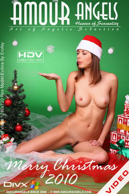 Evilina - `Merry Christmas 2010` - by Erofey for AMOUR ANGELS