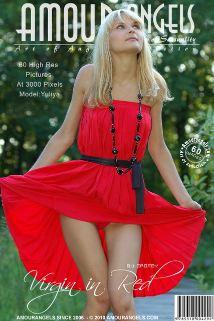 Sveta - `Virgin In Red` - by Erofey for AMOUR ANGELS