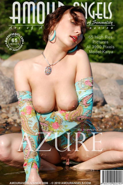 Katya - `Azure` - by Sofronova for AMOUR ANGELS