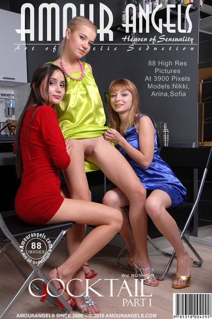 Nikki & Arina & Sofia - `Cocktail - Part 1` - by Busygin for AMOUR ANGELS