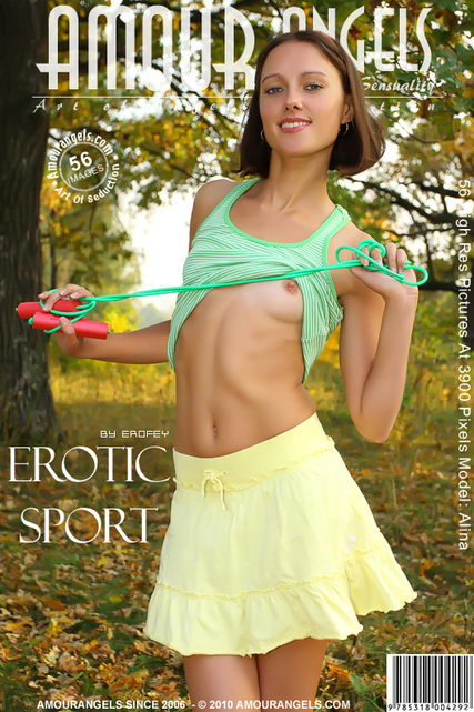 Alina - `Erotic Sport` - by Erofey for AMOUR ANGELS