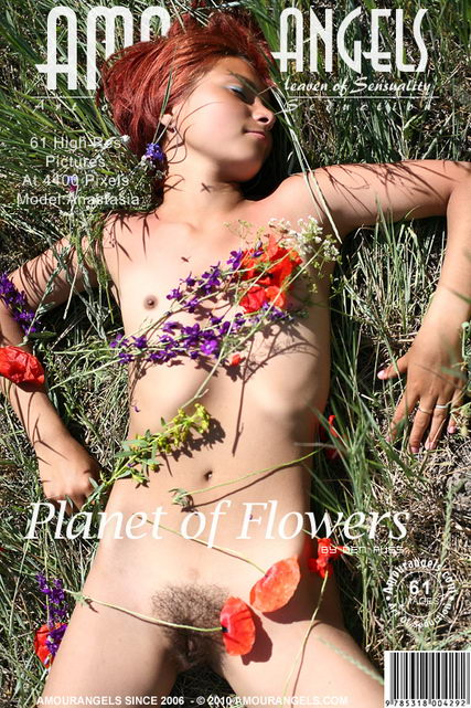 Anastasia - `Planet Of Flowers` - by Den Russ for AMOUR ANGELS