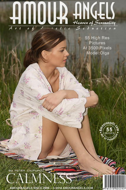 Olga - `Calmness` - by Peter Chupurov for AMOUR ANGELS