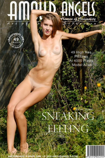 Alisa - `Sneaking Feeling` - by Al Rubin for AMOUR ANGELS